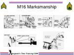 m16 marksmanship