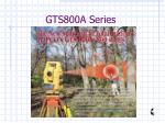 gts800a series