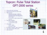 topcon pulse total station gpt 2000 series