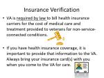 insurance verification