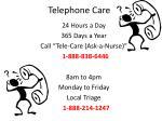 telephone care