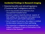 incidental findings in research imaging5