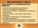 delovni paket 7 wp 7
