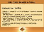 delovni paket 8 wp 8