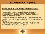 delovni paket 9 wp 9