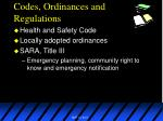 codes ordinances and regulations4