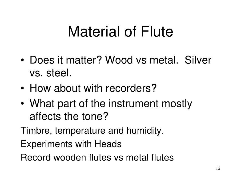 PPT - Flute Physics PowerPoint Presentation - ID:333178