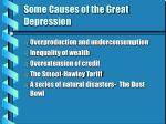some causes of the great depression19