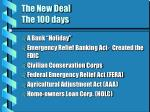the new deal the 100 days36