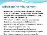 medicare reimbursement41