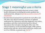 stage 1 meaningful use criteria74