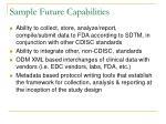 sample future capabilities