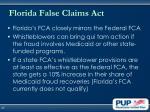 florida false claims act