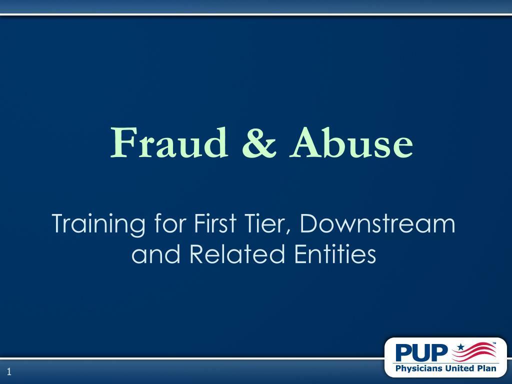 fraud abuse l.