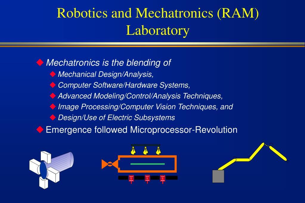 robotics and mechatronics ram laboratory l.