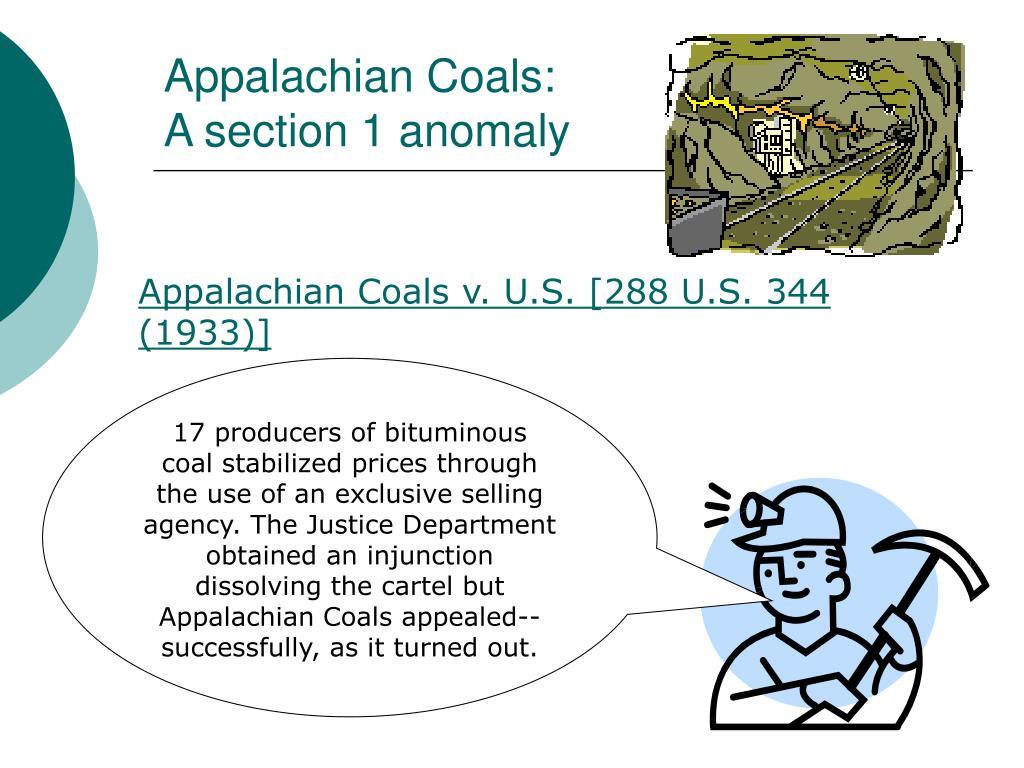 Appalachian Coals: