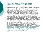 socony vacuum highlights