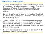 self test review questions34