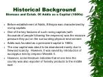 historical background biomass and estab of addis as a capital 1880s3