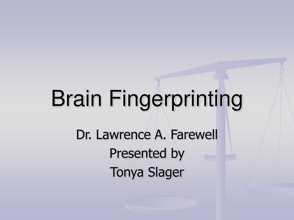 brain fingerprinting l.