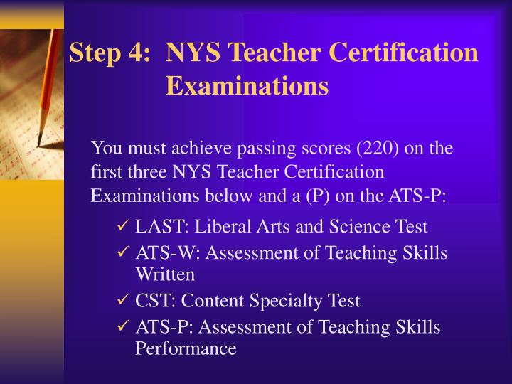 Nys Teacher Certification Gallery Creative Certificate Design