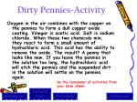 dirty pennies activity1
