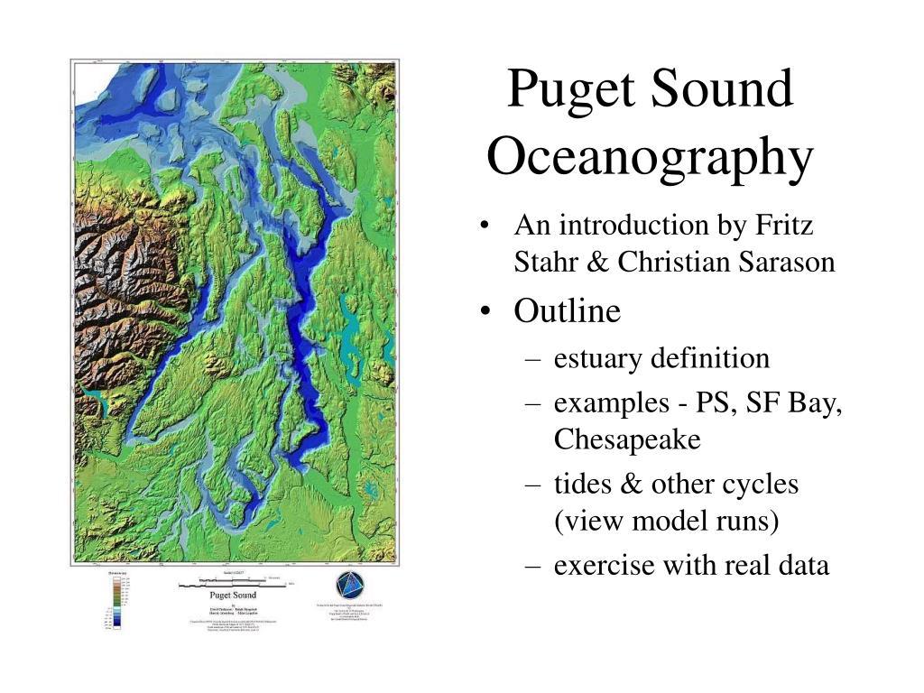 puget sound oceanography l.