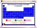 metals and non metals in the periodic table5