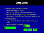 arraylets
