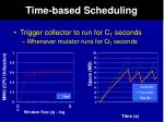 time based scheduling