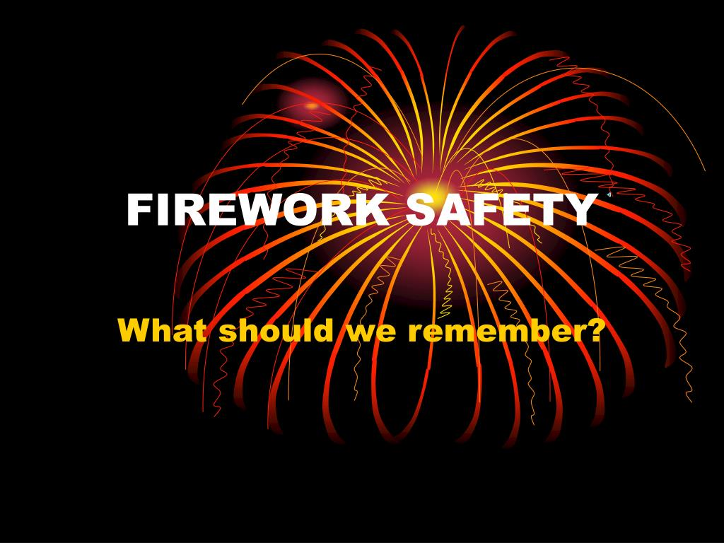 firework safety l.