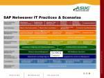 sap netweaver it practices scenarios