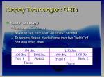 display technologies crts20