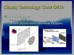 display technology color crts23