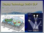 display technology dmd dlp