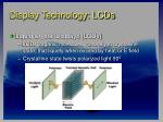 display technology lcds26