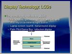 display technology lcds27