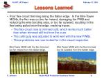 lessons learned13