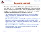 lessons learned14