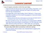 lessons learned7