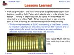 lessons learned8