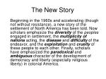 the new story