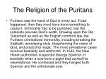 the religion of the puritans65