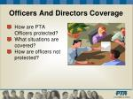 officers and directors coverage31