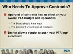 who needs to approve contracts