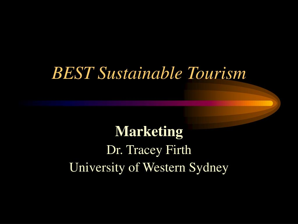 best sustainable tourism l.