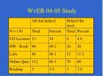wveb 04 05 study50
