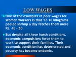 low wages54