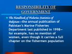 responsibility of government60
