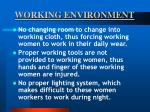 working environment35
